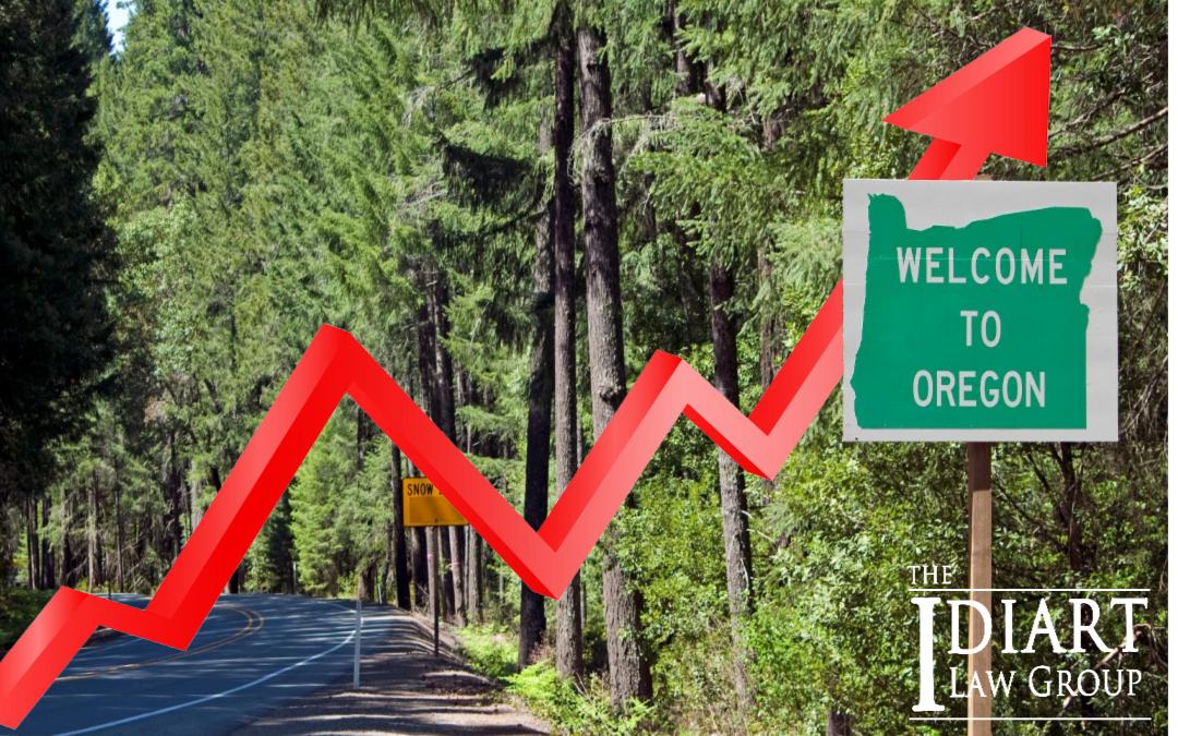 Oregon Car Crashes on the Rise